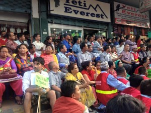 Nepal rallies f for tourism from Durbar Square to Thamel
