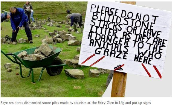 Littering in Fairy Glen