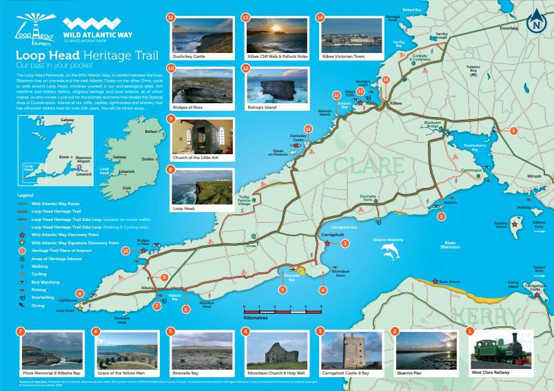 Loop Head Heritage Map